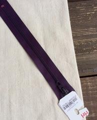 Молния спиральная 4мм, Riri, 18см, темно-фиолетовый