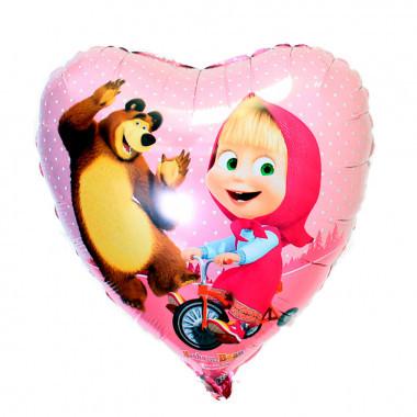 Воздушные шарики Маша и Медведь Шар фольга  Маша и Медведь в сердце serdtse-masha-i-medved-1-380x380.jpg