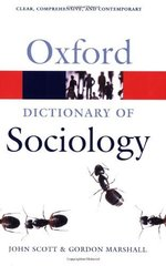 Oxf Dict of Sociology 3Ed