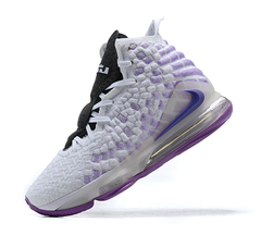 Nike Lebron 17 EP 'White/Light Purple'