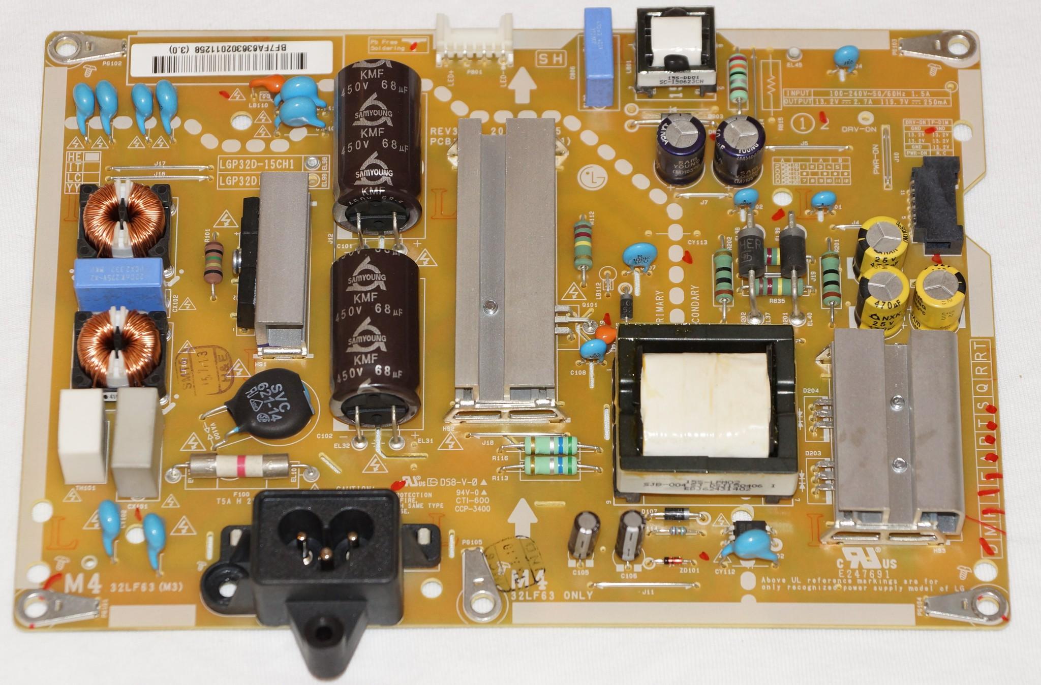 EAX66171501(2.1) блок питания телевизора LG