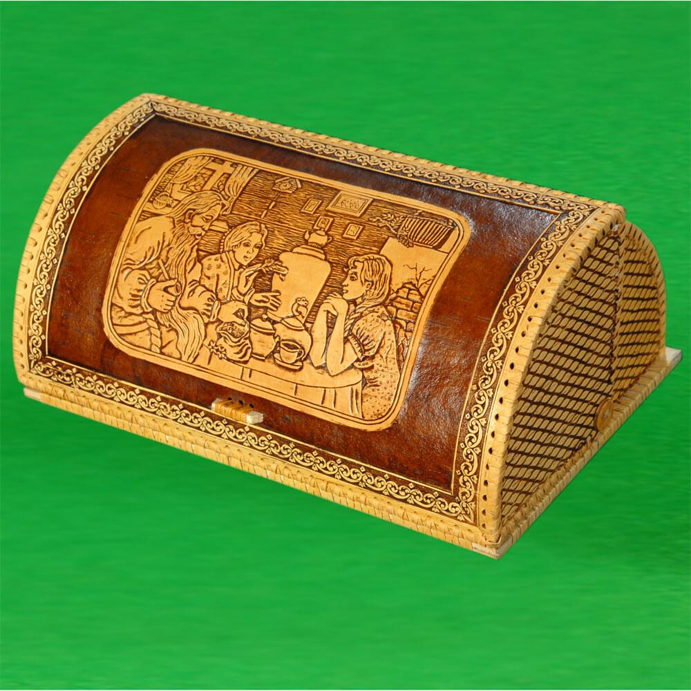 Хлебница шлем Чаепитие 2