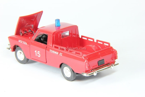 Moskvich-27151 Pikup Fire engine Agat Mossar Tantal 1:43
