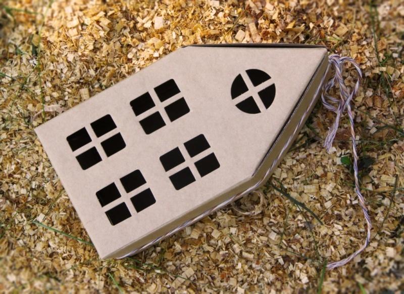 Коробка Домик