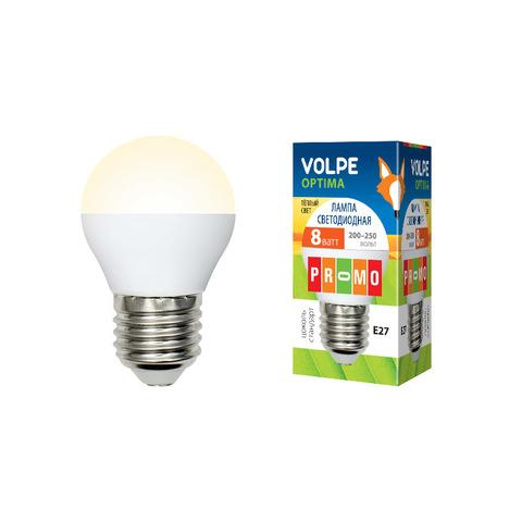 LED-G45-8W/WW/E27/FR/O Лампа светодиодная. Форма