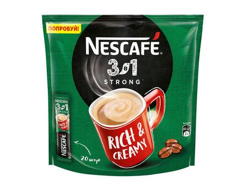 купить Кофе растворимый Nescafe Classic крепкий 3 в 1