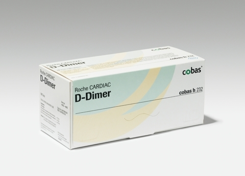 Тест-полоски Roche CARDIAC T Qantitative Troponin T и Тест-полоски Д-Димера (Roche CARDIAC D-Dimer) для Сobas h 232 /Roche Diagnostics GmbH, Germany/Рош Диагностикс ГмбХ, Германия/