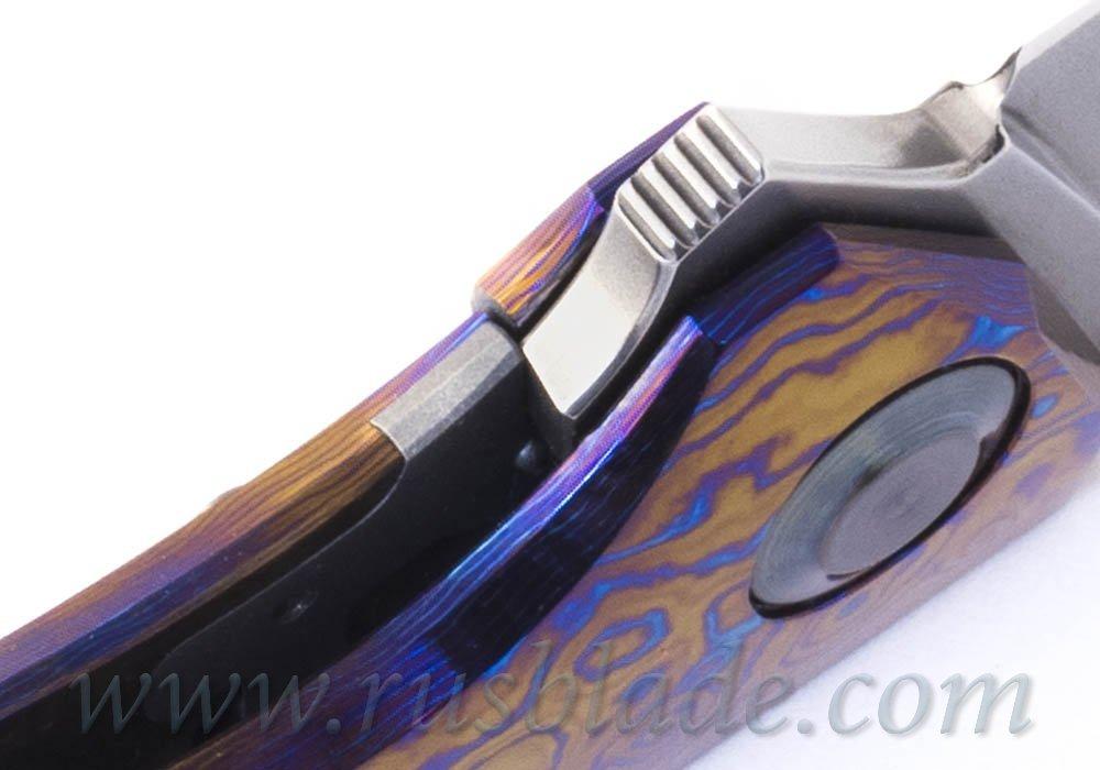 Cheburkov 2020 Hudson M390 Timascus Full Custom