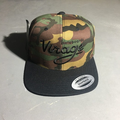 Кепка Virage skateboards logo snapback CAMO/BLACK Размер Универсальный