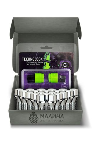 Готовый набор из колёсных болтов М12x1.25 и комплекта секреткок TECHNOLOCK G