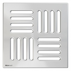 Накладная панель для трапа 10,2x10,2 см Alcaplast MPV001 фото