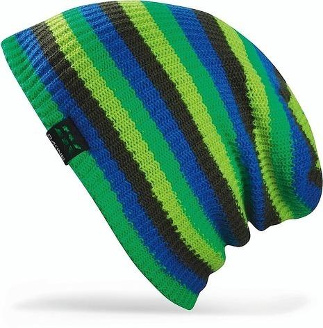 Длинные шапки Шапка-бини вязаная Dakine Chase Green 3.jpg