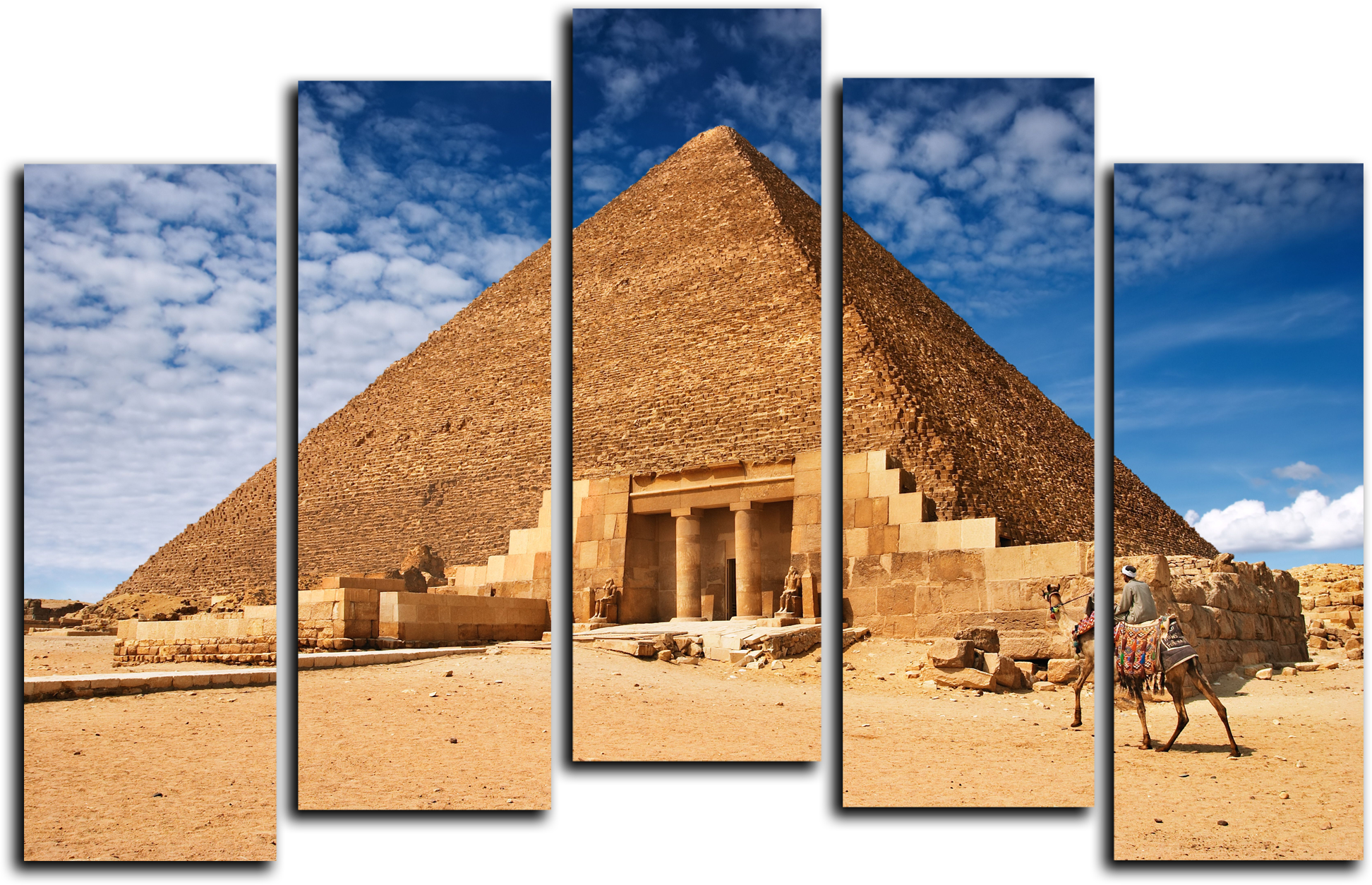 """Модульные картины Модульная картина """"Египетская пирамида"""" М148.png"""