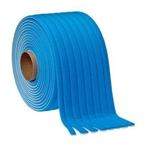 3М Поролоновые валики для проёмов  21мм (в коробке 49м) 50421(голубые)