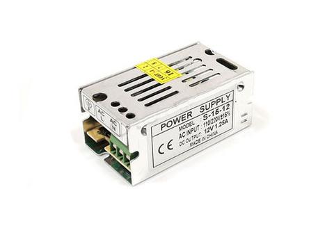 Блок питания 15Вт, 12В, IP23 для светодиодных лент и модулей