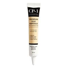Esthetic House CP-1 Premium Silk Ampoule - Несмываемая сыворотка для волос с протеинами шелка