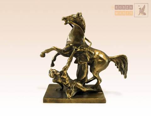 статуэтка Аничков мост, кони Клодта (вариант 1)