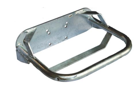 Двойная | Защита металлическая для двойной поилки