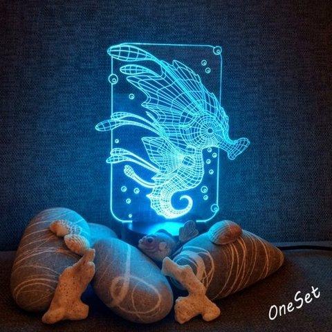 Ночник Морской конёк
