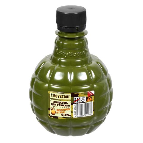 Жидкость для розжига 0,25 л, Парафиновая