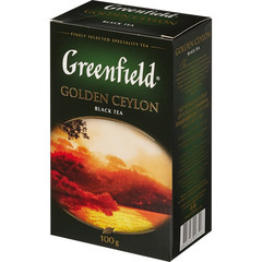 Чай Greenfield Golden Ceylon черный 100 г