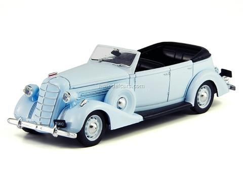 ZIS-102 blue 1:43 DeAgostini Auto Legends USSR Best #3