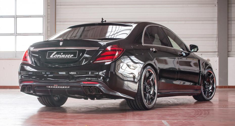 Обвес Lorinser для Mercedes S-class W222 рестайлинг