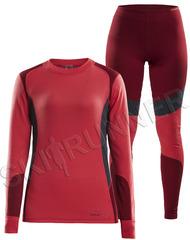 Комплект термобелья Craft Baselayer Red женский