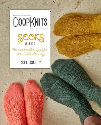 Книга Rachel Coopey CoopKnits Socks Volume 2 купить