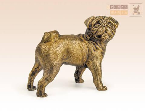 статуэтка Собака Мопс