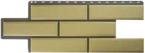 Фасадная панель Альта Профиль Камень венецианский Песчаный 1250х450 мм