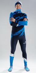 Раздельный лыжный гоночный комбинезон NordSki Premium Deep Blue 2020