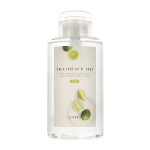 Обновляющий тонер с экстрактом лайма Eunyul Daily Care Lime Skin Toner 500мл