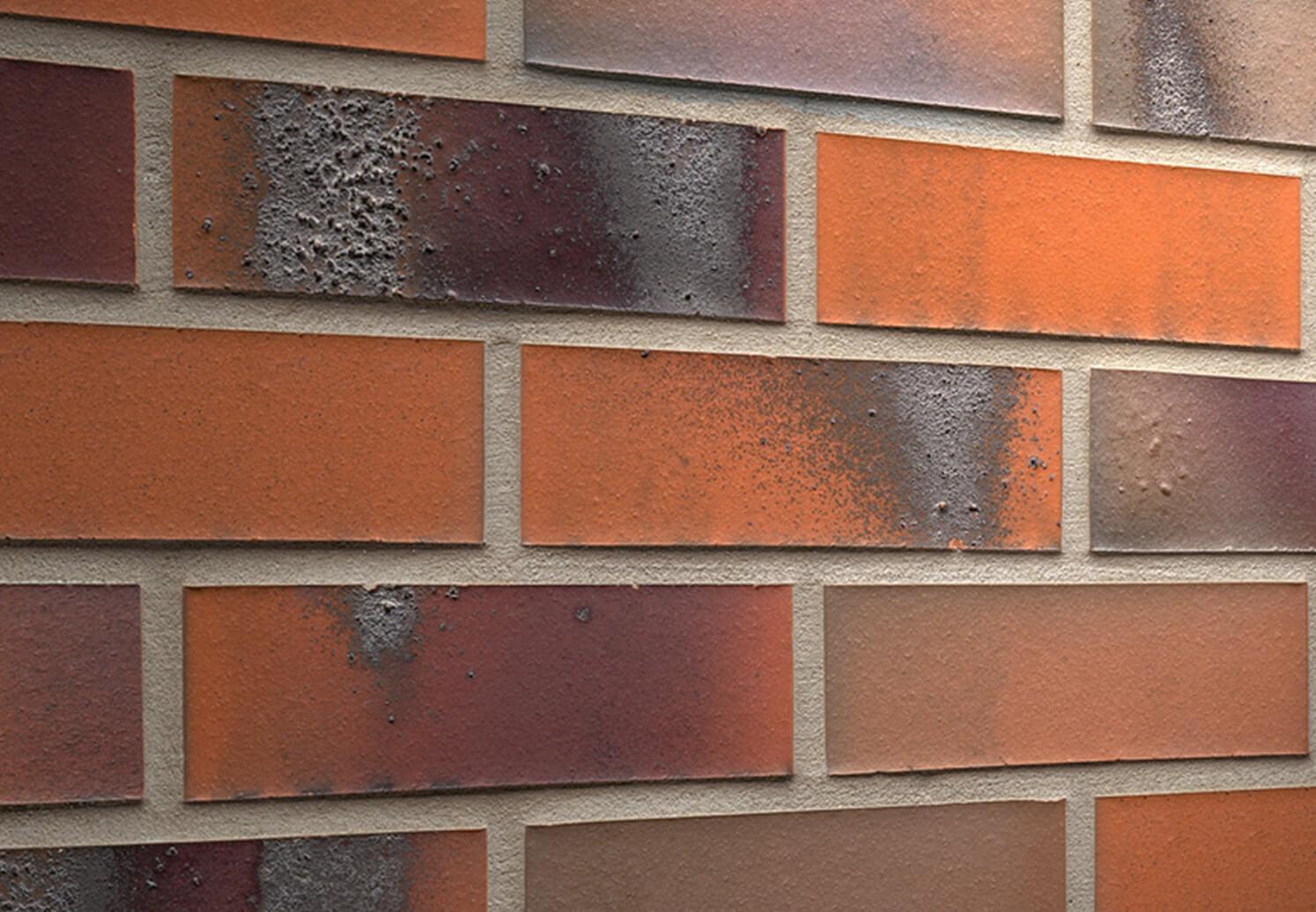 Feldhaus Klinker - R562NF14, Carbona Terreno Bluastro, 240x14x71 - Клинкерная плитка для фасада и внутренней отделки
