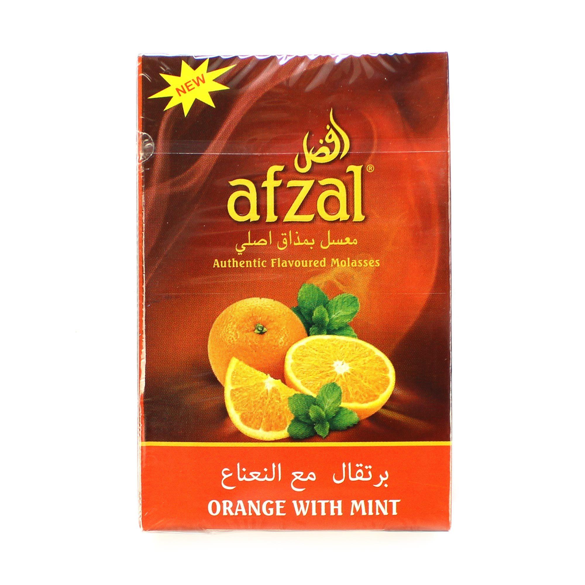 Табак для кальяна Afzal Orange Mint 50 гр