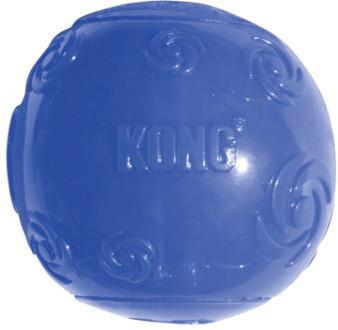 Игрушки Игрушка для собак KONG Squeezz Мячик очень большой резиновый с пищалкой 9 см 6984d964-61ec-11e1-ba5d-001517e97967_4.jpg