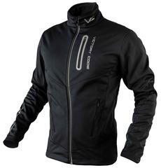 Утеплённая лыжная куртка 905 Victory Code Go Fast Black 2019