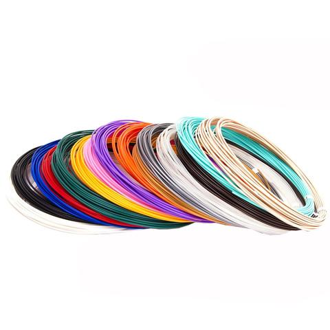 Набор Пластика (PLA) для 3Д Ручки 15 цветов.