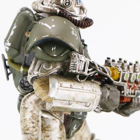 Фаллаут статуэтка Fallout Power Armor 51  из игры