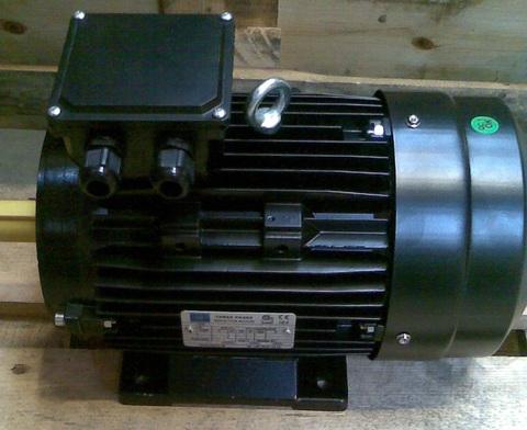 22121735 Электродвигатель переменный, трехфазный, асинхронный 3,0 кВт 3х400 В 1400 об/мин