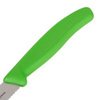 Нож Victorinox для томатов и сосисок, лезвие 11 см волнистое, зеленый