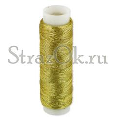 Купите нитки для пришивания страз золото для бальных танцев