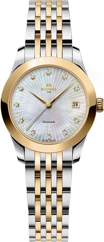 Часы женские Silvana SR28QSY45B Lady LeMarbre