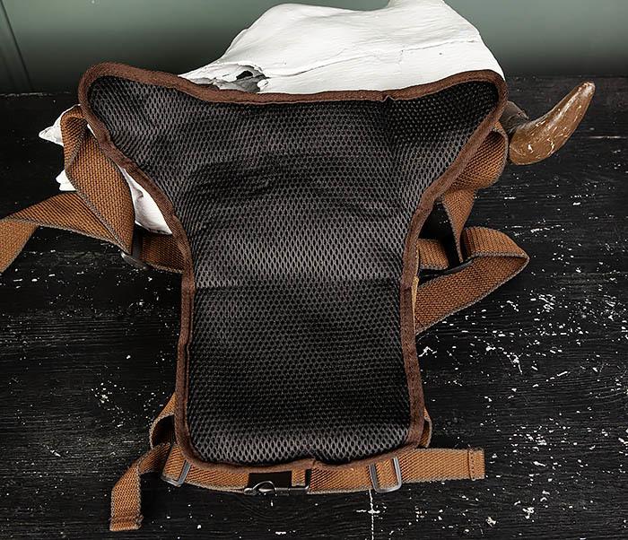 BAG505-2 Вместительная текстильная сумка на ногу фото 08