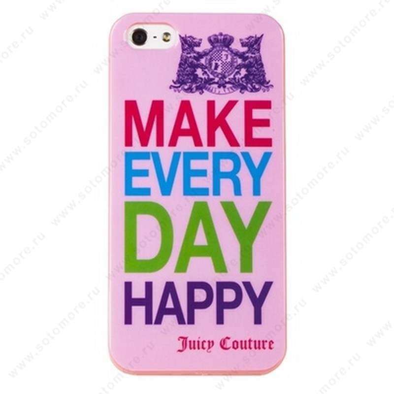 Накладка Juicy Couture для iPhone SE/ 5s/ 5C/ 5 вид 1