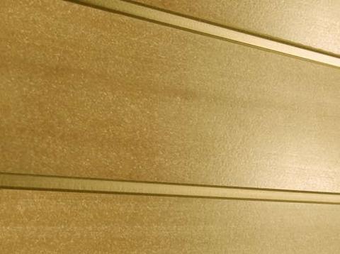 Профиль ДПК для заборов - SW Agger глянцевый. Цвет тик.