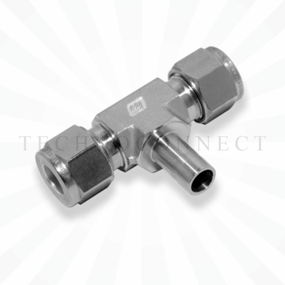 CBTA-6M  Тройник - адаптер: фитинг 6мм- присоедин. фитинг  6 мм