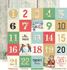 Лист журнальных карточек 30*30см Under the Tree by October Afternoon