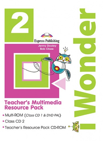iWonder 2 Teacher's Multimedia Resource Pack (Set Of 3)