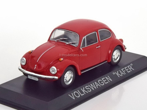VW Kafer Volkswagen red 1:43 DeAgostini Masini de legenda #37